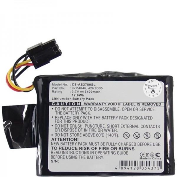 RAID Controller Batteri passer til IBM 39J5554, 42R8305, 97P4846, CGA-E / 212AE