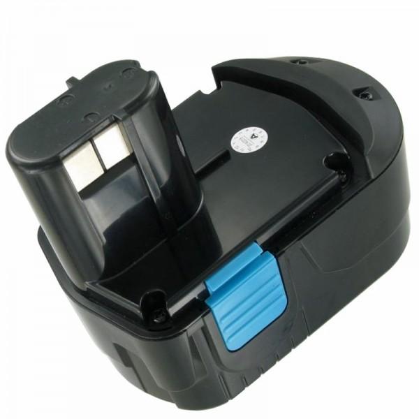 AccuCell batteri passer til Hitachi EB1826 HL 18 Volt 3000mAh