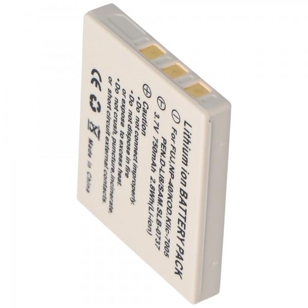 AccuCell batteri passer til Medion MD85416, NP40, 710mAh