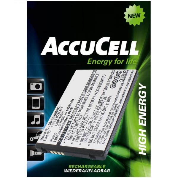 AccuCell Li-ion udskiftning batteri passer til LG Ally VS740, Etna, eXpo GW820