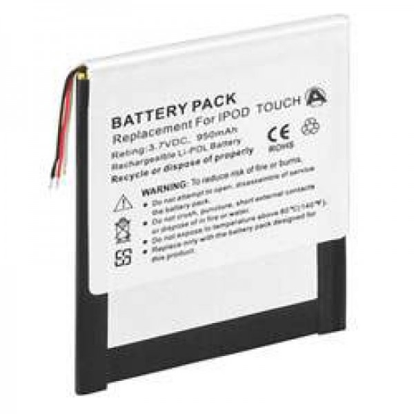 AccuCell batteri passer til Apple iPOD touch 8G, 4G, 616-0343