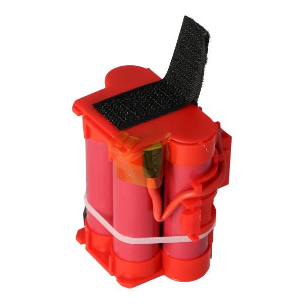 2500mAh batteri passer til Gardena 574 47 68-01 batteri R40Li, R45Li, R70Li, R80Li, Automower 105, 305, 308