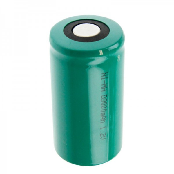 X8500HD NiMH batteri Mono kort version 57,5 x 33mm 1,2 Volt 8500mAh