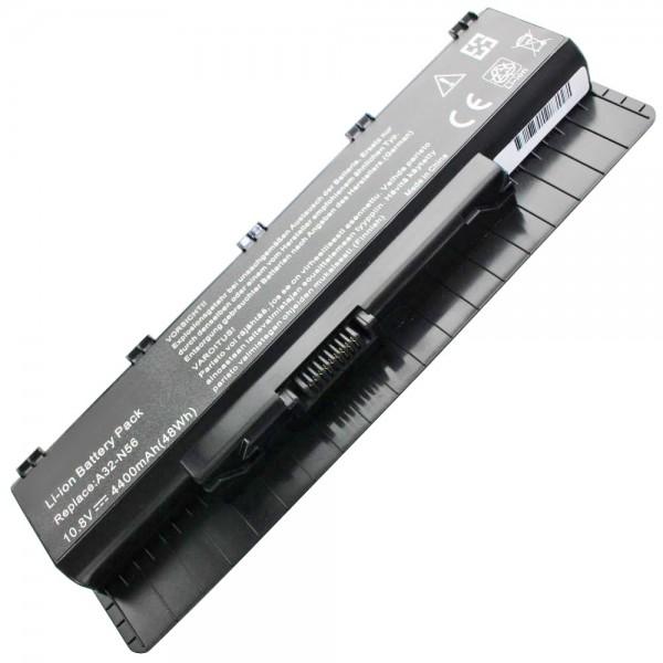 A31-N56, A32-N46, A32-N56, A33-N56 Udskiftningsbatteri til Asus B53A med 11,1 Volt 4400mAh