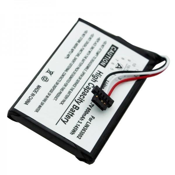 Navigon 1400 batteri, 1410, 2410 som udskifteligt batteri fra AccuCell LIN363002