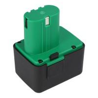 Replica batteri passer til Gesipa Li-ion batteri 7210207 14,4 volt 1,3-1,5 Ah, ingen original Gesipa batteri