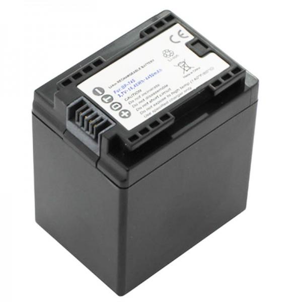 Canon BP-745 Replica batteri fra AccuCell passer til Canon LEGRIA HF M52