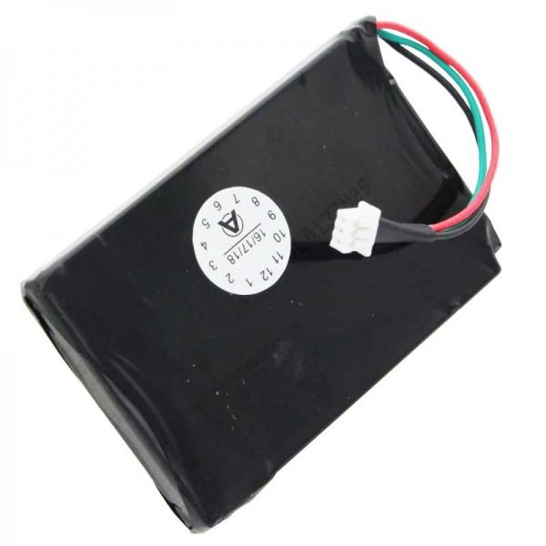AccuCell batteri passer til Magellan Roadmate 1200, 1210, T0021, Bemærk, kun til batteriversion med 3 kabler