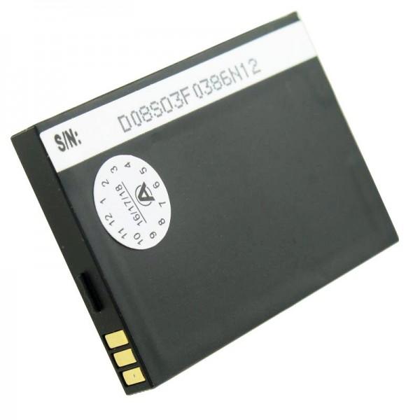 AccuCell batteri passer til mobiltelefonbatteriet Swissvoice MP01 batteri TJB-1