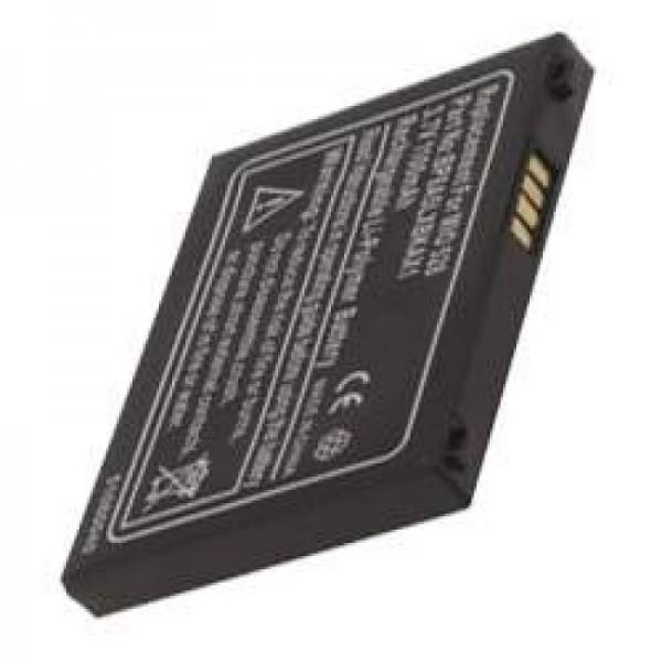 AccuCell batteri passer til Mitac Mio 528, P / N BP8A5LXBKAX1