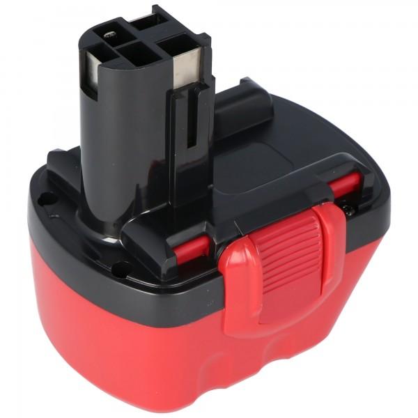 Batteri passer til Bosch GSR 12 VE-2, GSB 12 VE-2 NiMH genopladeligt 2.0Ah
