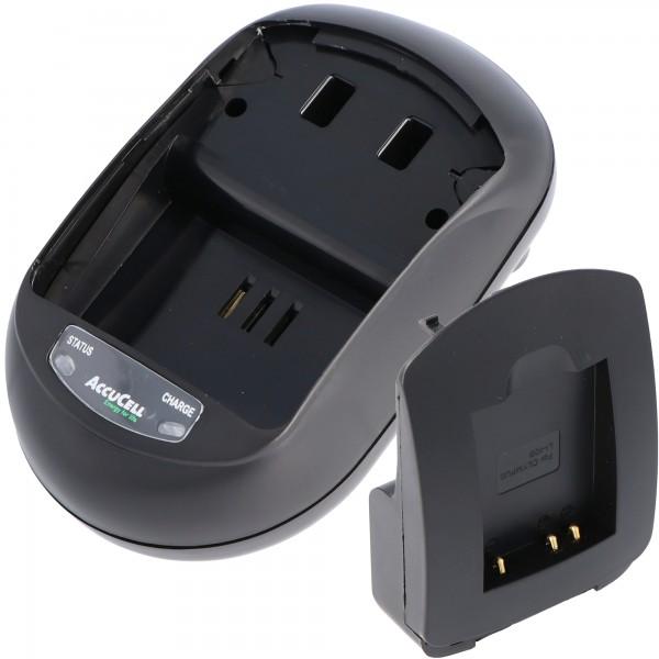 AccuCell oplader egnet til genopladeligt batteri 02491-0066-00, DS5370