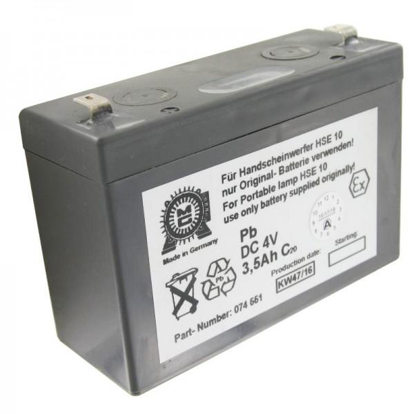 Eisemann HSE10 batteri original til Eisemann håndlampe