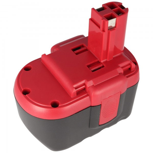 Batteri passer til Bosch GSR 24VE-2, GBH 24V, 2607335280, NiMH 1.4Ah