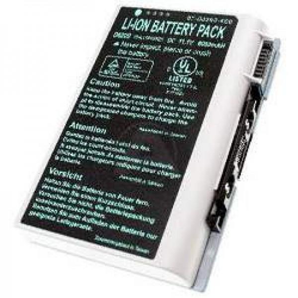 AccuCell batteri til Clevo D610, D620, D630, BAT-6120, 6000mAh