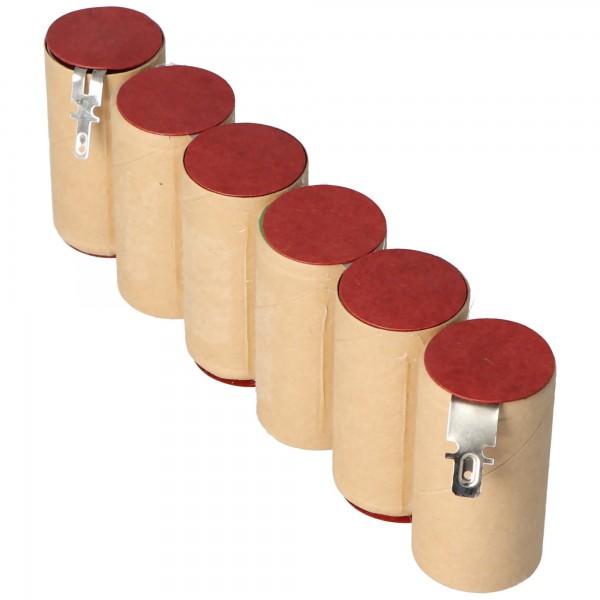 Batteri passer til Gardena ACCU 90, Accu90 genopladeligt batteri NiMH Accu90, Gardena 8804, 8804-20