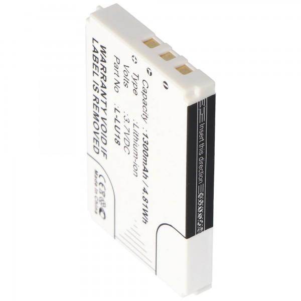 Batteri passer til Logitech Harmony 1000, Harmony 1100, Squeezebox