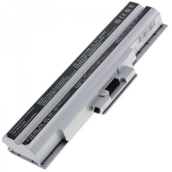 Batteri passer til Sony VGP-BPS21, VGP-BPS21A 4400mAh sølv