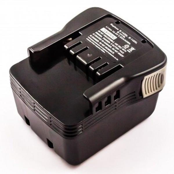 AccuCell batteri passer til Ryobi B-1415L batteri 14.4 Volt, 3.0 Ah