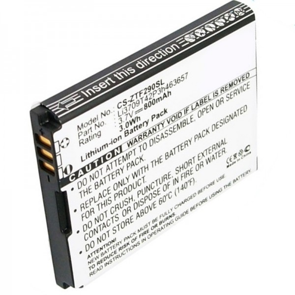 Li3708T42P3h463657-NTC udskiftningsbatteri fra AccuCell