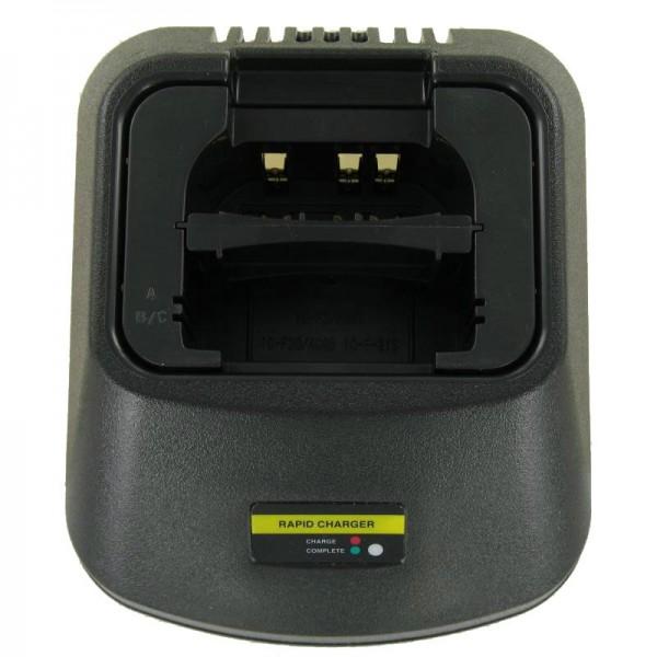 Batterioplader egnet til Icom IC-A6 batteriet til radio