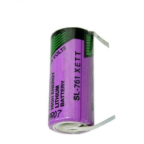 Solskin uorganisk lithiumbatteri SL761 / T med loddekoder