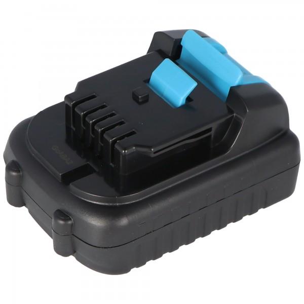 Batteri passer til Dewalt DCB120 Li-ion batteri, DCB121, DCB127, 12Volt 2Ah
