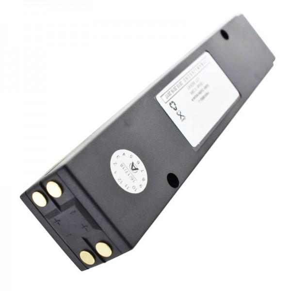 AccuCell batteri passer til Bosch HFG 10, 8967322072, 300mAh