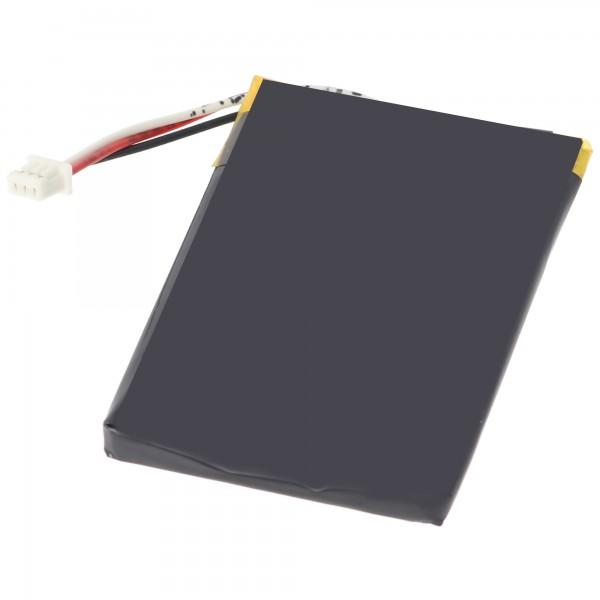 AccuCell batteri passer til Navigation Falk M2 batteri, M4, M6, M8 og 57181740068