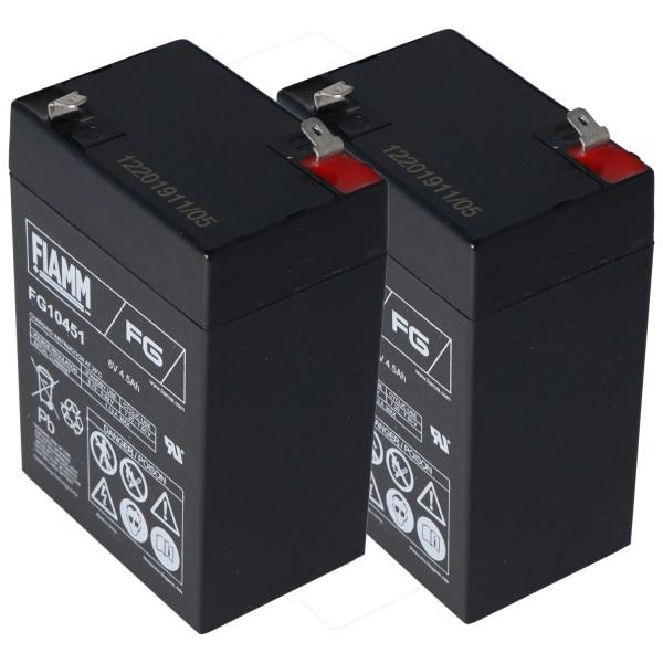 Batteri passer til APC RBC1 batteri, APC back-UPS, model BK200BI