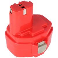 Batteri passer til Makita 1420, 1422, 1433, 1434, 1435 14.4V NiMH 2.0Ah