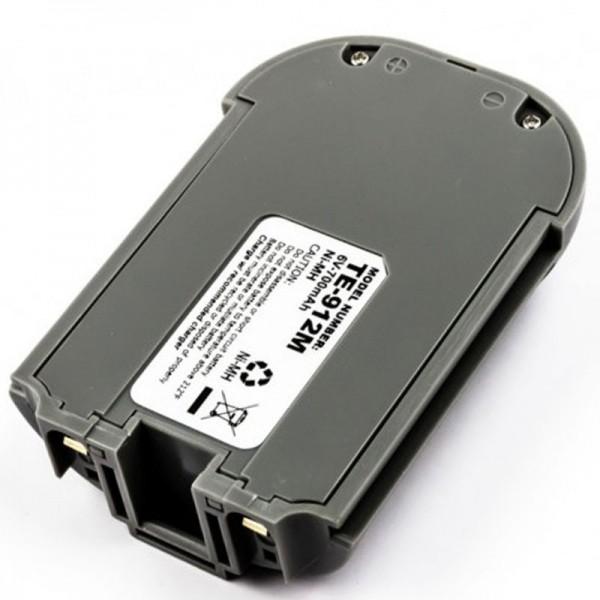 TELXON PTC 912DS NiMH genopladeligt batteri som en replik af AccuCell