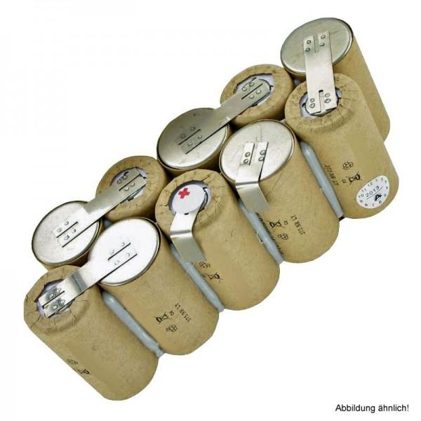 Batteri passer til EURAS XXL 100 hånd støvsuger type 130.016