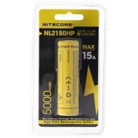 Nitecore 21700 Li-ion batteri med 5000mAh NL2150HP med maks. 15A udladningsstrøm