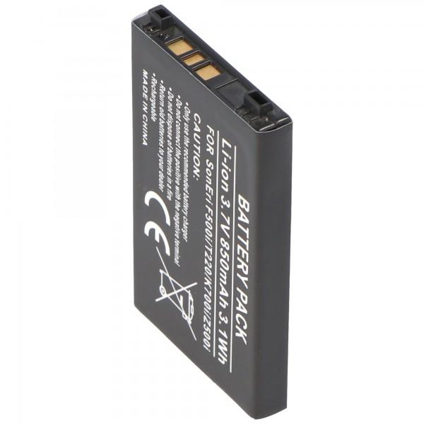 AccuCell batteri til Sony Ericsson J200i, T230, T226, K500