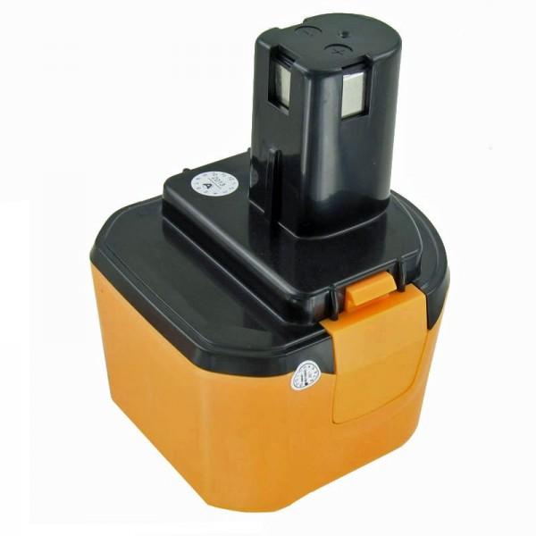 AccuCell batteri passer til Ryobi 1400651 batteri 9.6 Volt NiMH 3Ah