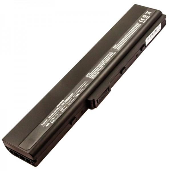 Batteri passer til Asus N82 series batteri VX020V serie A32-N82 batteri A42-N82
