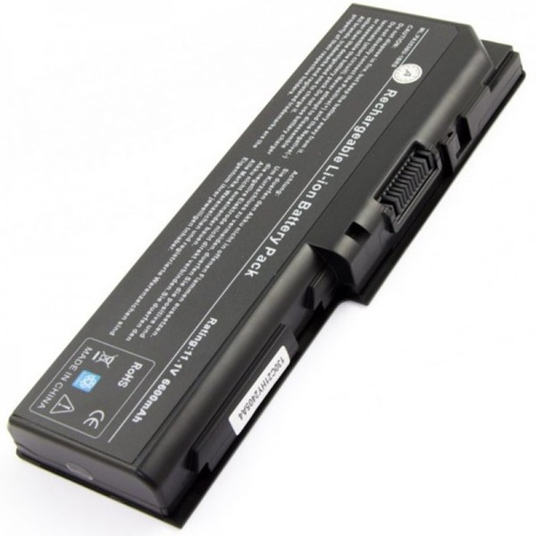 Batteri passer til Toshiba Satellite P200 Battery P300 med 7800mAh