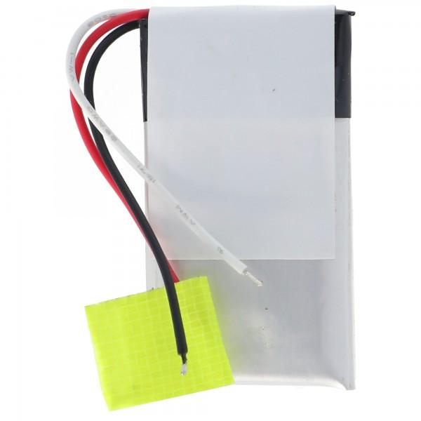 Batteri passer til Bose QuietComfort 20 batteri PR-452035, QC20, QC-20