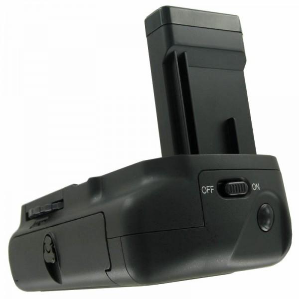 Batteri greb passer til Nikon D3100, D3200, betjening med 2 EN-EL14 batterier
