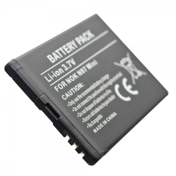 AccuCell batteri passer til Nokia N97 Mini, BL-4D