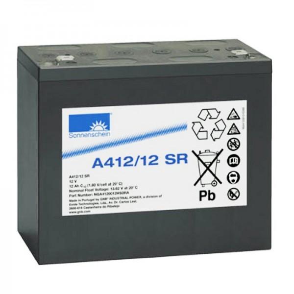 Sunshine Dryfit A412 / 12SR blybatteri PB 12Volt 12Ah