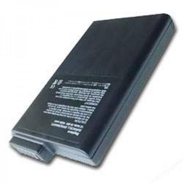 AccuCell batteri passer til Duracell DR36S (Dump), 4000mAh