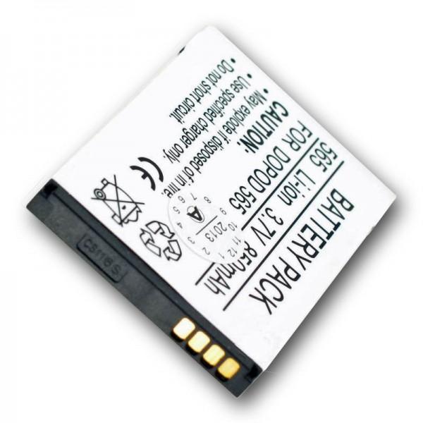 AccuCell batteri passer til T-Mobile SDA II, ST26