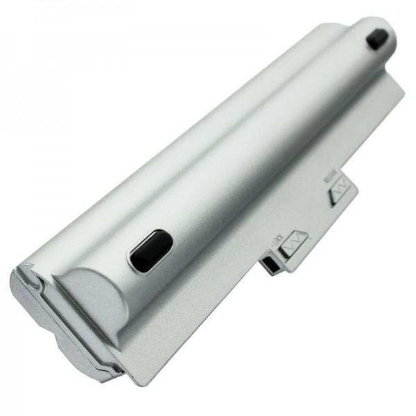 AccuCell batteri passer til Sony VGP-BPS13 batteri 6600mAh