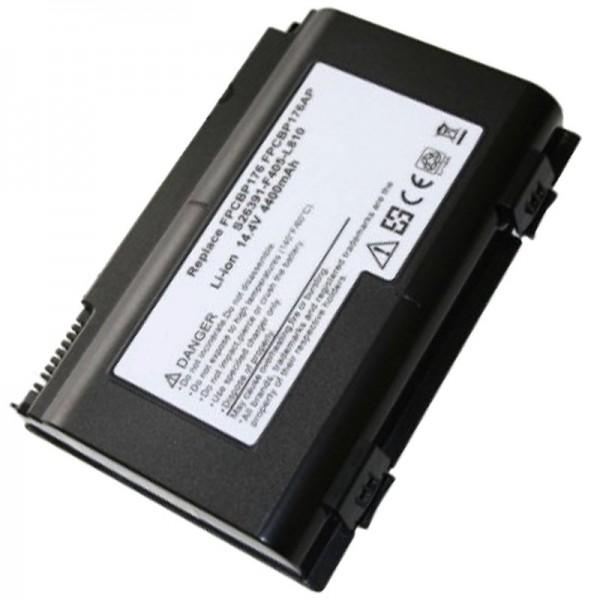 AccuCell batteri passer til Fujitsu-Siemens FPCBP175A, E8310