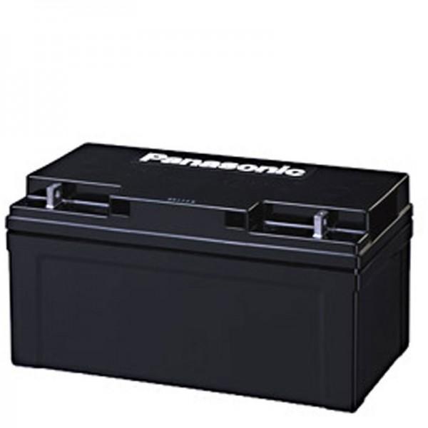 Panasonic LC-X1275P blybatteri 12 volt 75 Ah