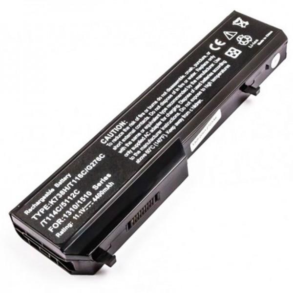 AccuCell batteri passer til Dell Vostro 1310, 1510, 1520, 2510