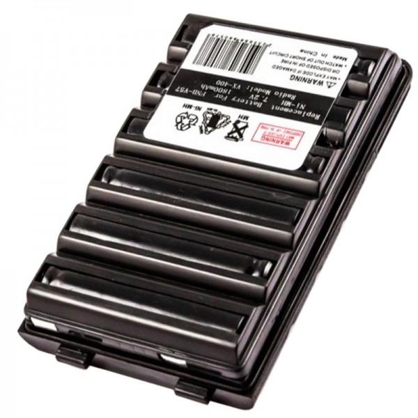 Batteri passer til Yaesu FNB-V57 batteri til radioer