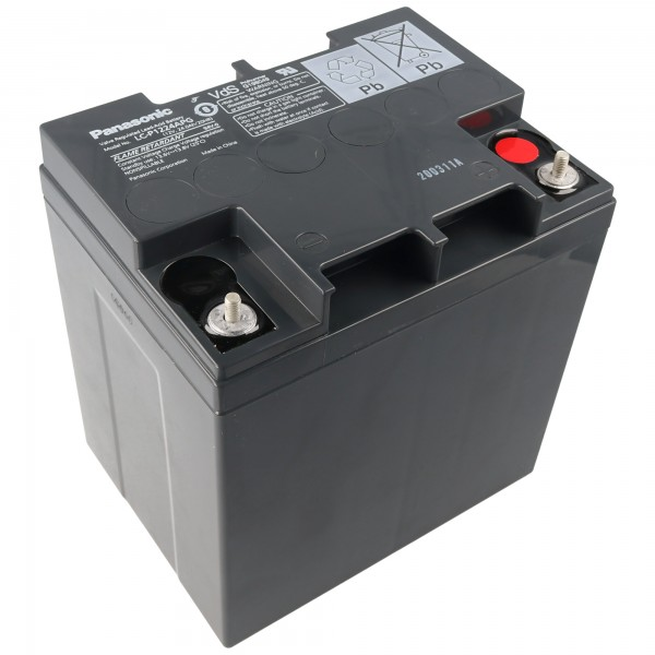 Panasonic Bly Batteri LC-X1224APG Batteri 12 Volt 24Ah
